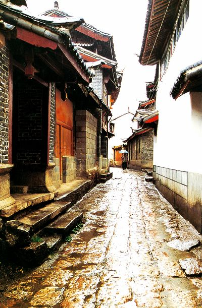 Lane in Lijiang Ancient Town